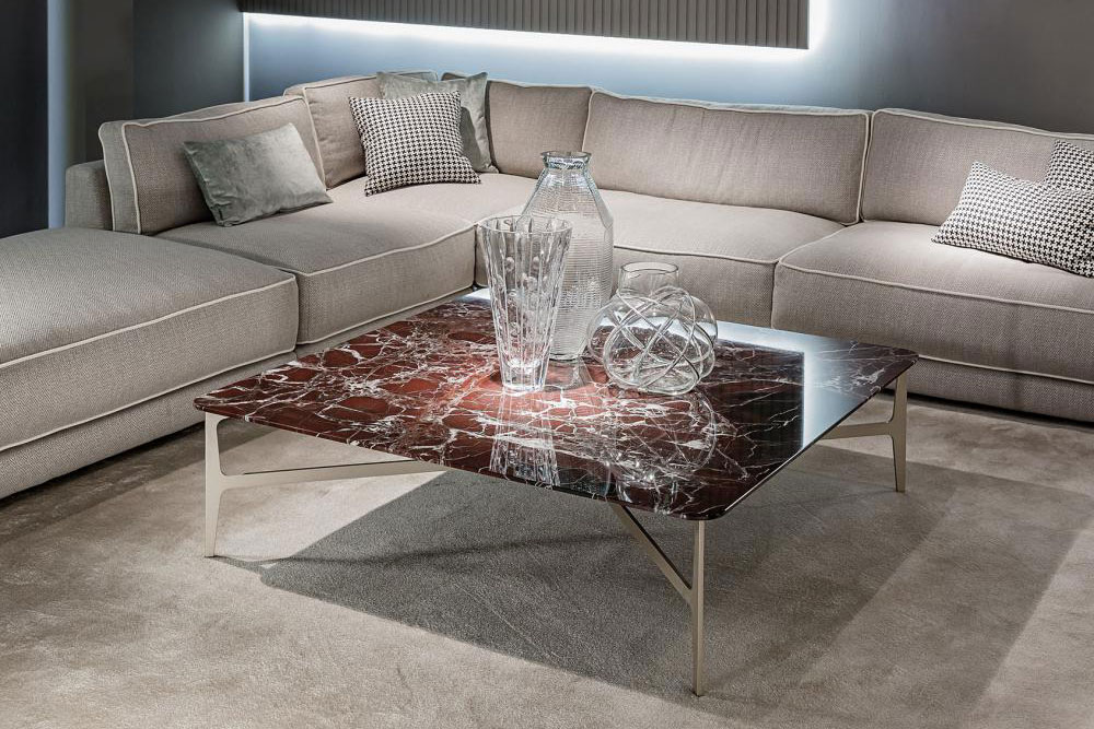 DUPRÈ | Coffee Table, Marmor rosso