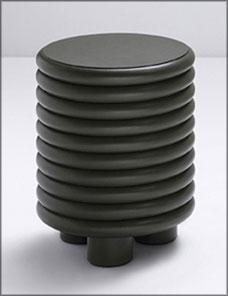 SCALA | Round Stool - loden green 001