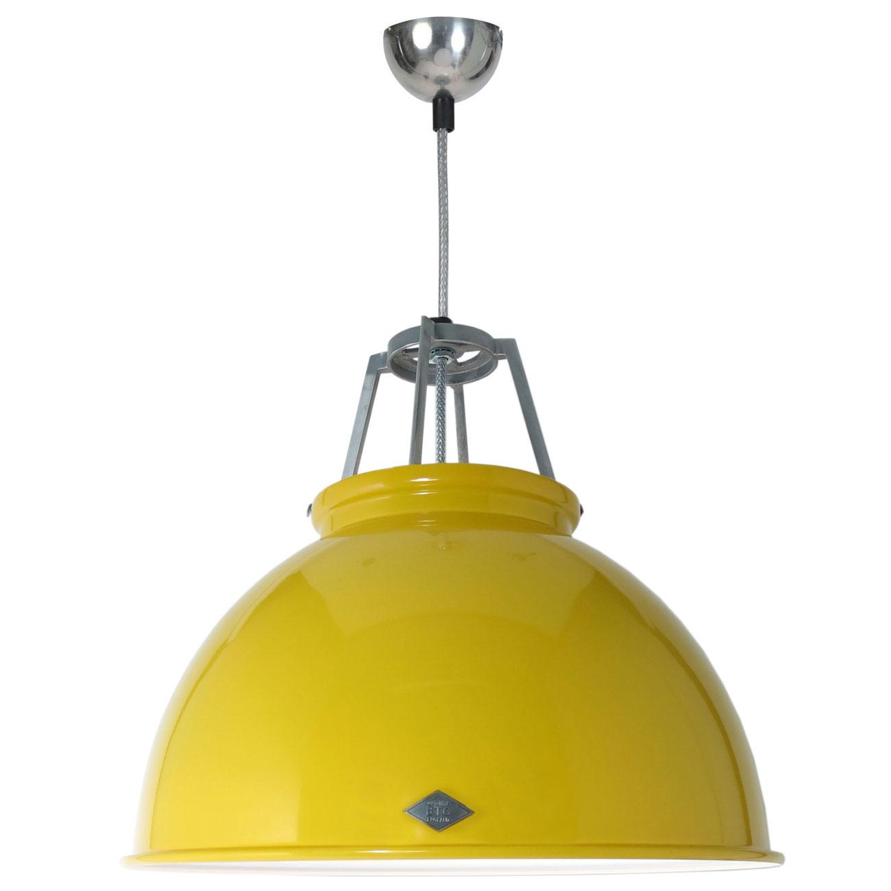 TITAN | Pendant, yellow with white