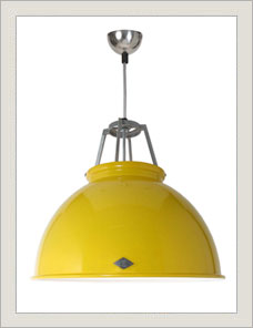 TITAN | Pendant, yellow with white