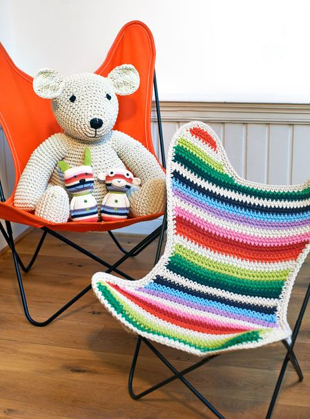 BB AIRBORNE | Kids Chair Stripe – Bild $_i