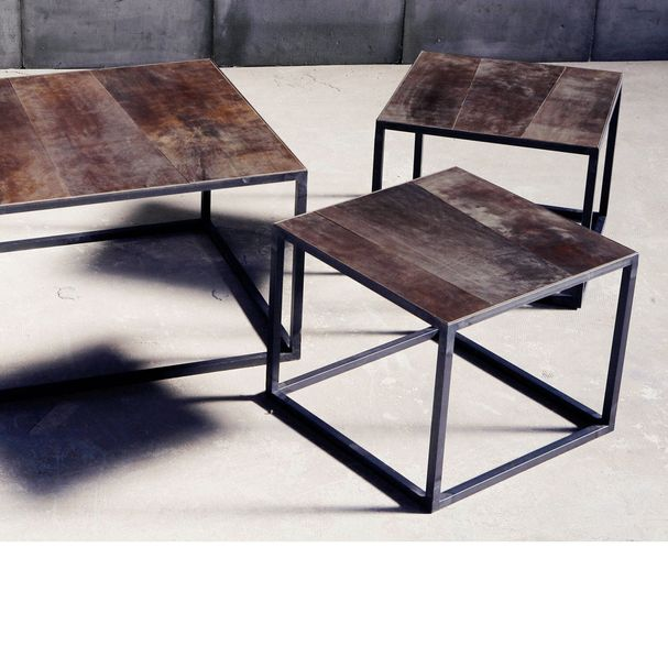 SIDE TABLE |Leather – Bild $_i