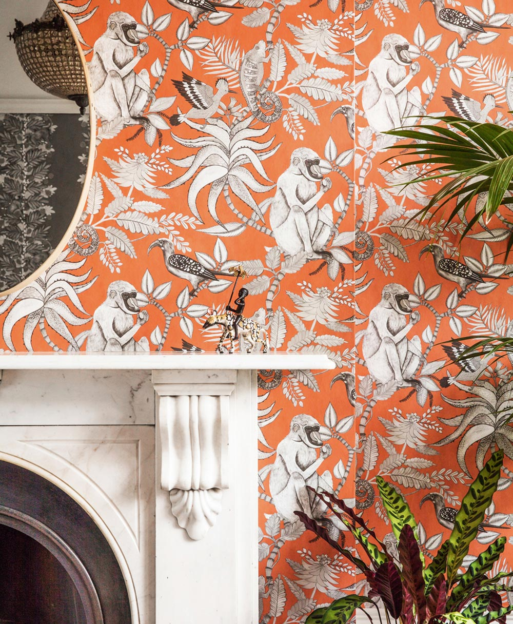ADMORE | Savuti Wallpaper, orange