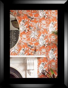 ADMORE | Savuti Wallpaper, orange 001