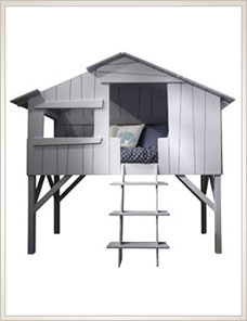 Treehouse Bed | Single high, 20 Farben