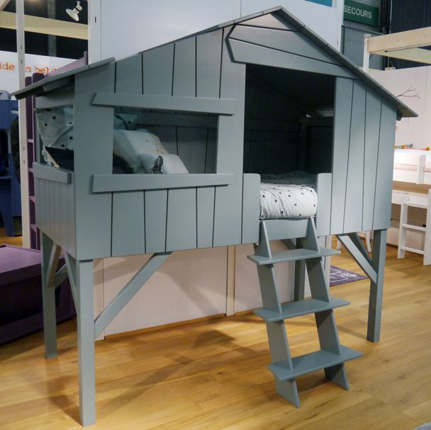 Treehouse Bed | Single high, 20 Farben – Bild $_i