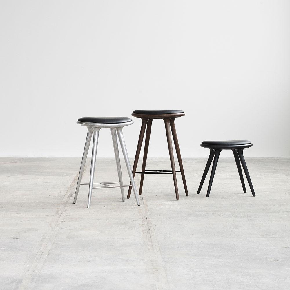 STOOL HIGH | Wood 74 cm