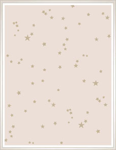 WHIMSICAL | Stars Tapete, rose