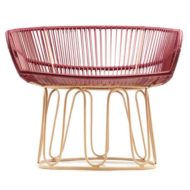 AMES CIRCO | Lounge Stuhl – purpur, carne – Bild $_i