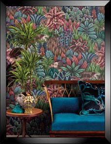 ADMORE | Singita Wallpaper night blue 001