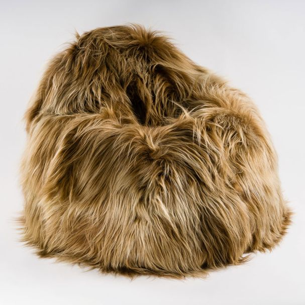 BEAN BAG | Sheepskin gold – Bild $_i