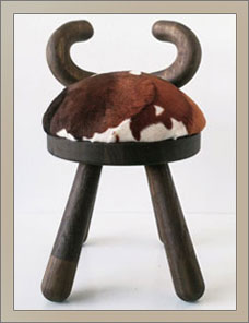 COW | Hocker, Kids Chair