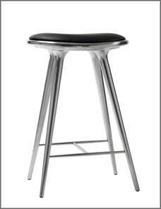 STOOL HIGH | Aluminium recycled 69 cm