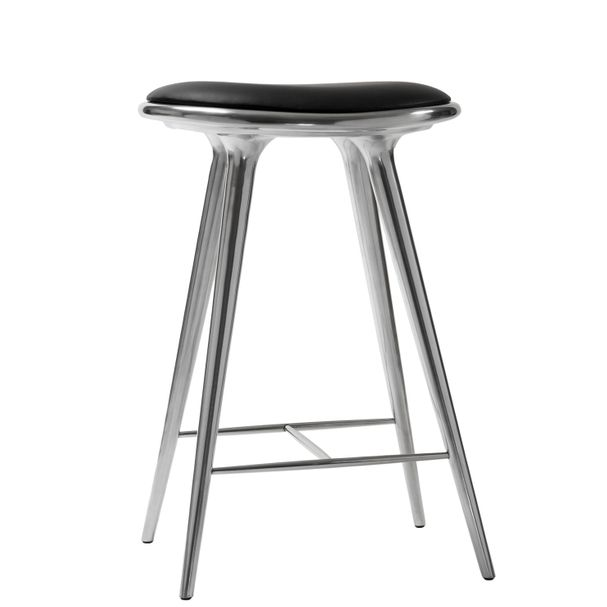 STOOL HIGH | Aluminium recycled 69 cm – Bild $_i