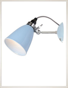 HECTOR DOME | Wall Light, blue
