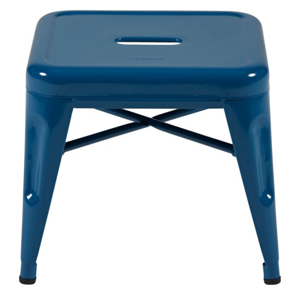 TABOURET H 30   Indoor glossy, bleu océan – Bild $_i