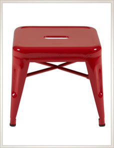 TABOURET H 30 | Indoor glossy, piment