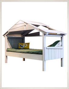 Treehouse Bed | Single low, 20 Farben