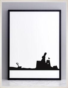 HAM ILLUSTRATION | Seaside Rabbit