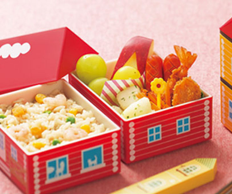 LUNCH BOX | Bento House, rot