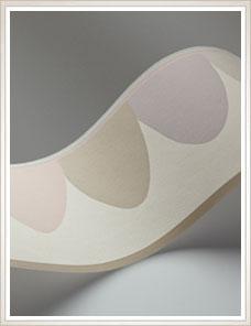 WHIMSICAL | Scaramouche Bordüre, pastel taupe