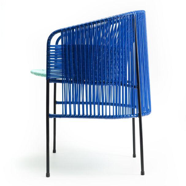 AMES CARIBE | Stuhl - blau, mint, schwarz – Bild $_i