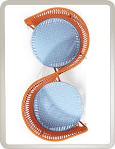 AMES CARIBE | Vis a Vis - orange, mint, braun
