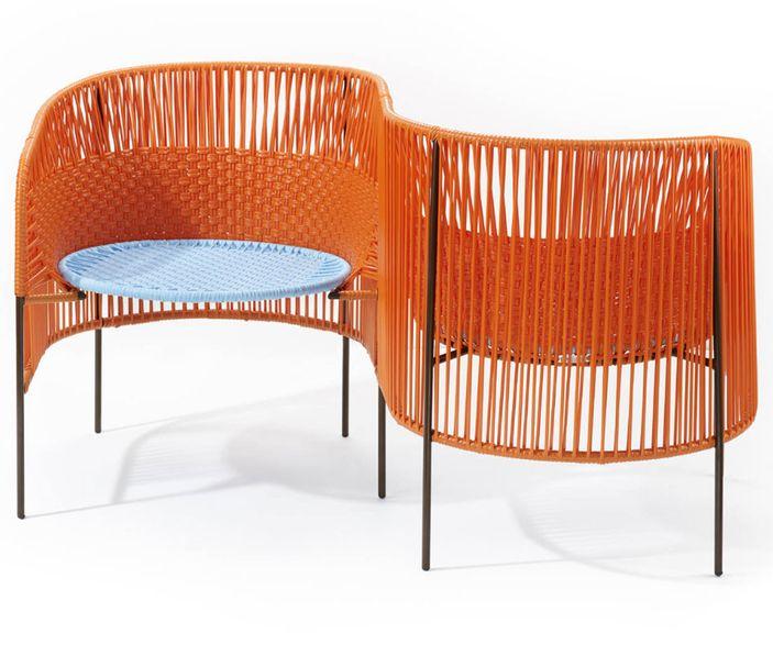 AMES CARIBE | Vis a Vis - orange, mint, braun – Bild $_i