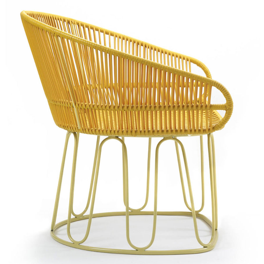 AMES CIRCO | Lounge Stuhl – honig, sandfarben