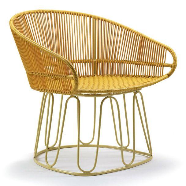 AMES CIRCO | Lounge Stuhl – honig, sandfarben – Bild $_i