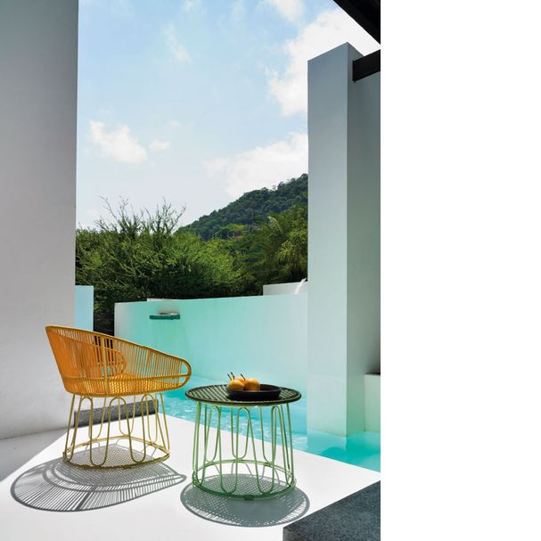 AMES CIRCO   Lounge Stuhl – honig, sandfarben – Bild $_i