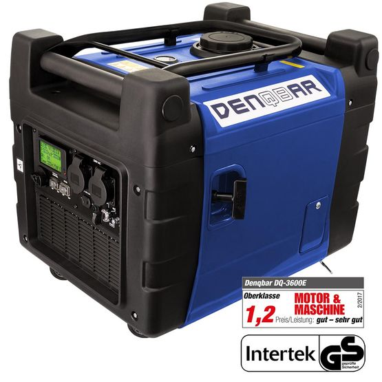 E-START 3,6 kW Digitaler Inverter Stromerzeuger, Generator benzinbetrieben