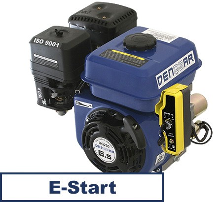 Universal Benzinmotor mit 4,8 kW (6,5 PS) 196 cm³ 19,05 mm Q-Typ mit E-Start