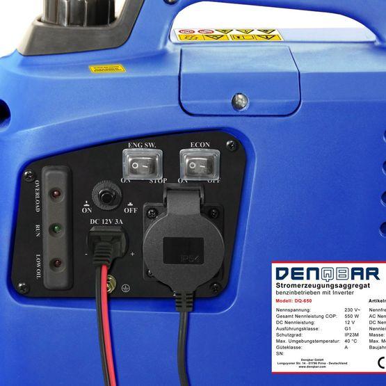 650 W Digitaler Inverter Stromerzeuger, Generator benzinbetrieben