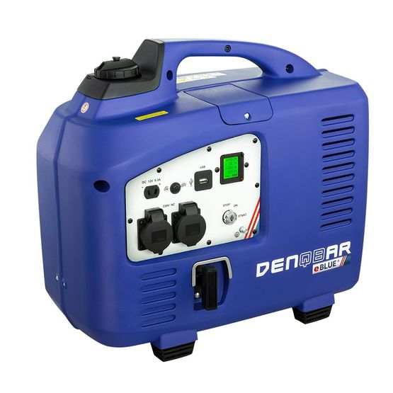 eBLUE® E-START 2,5 kW Digitaler Inverter Stromerzeuger, Generator benzinbetrieben