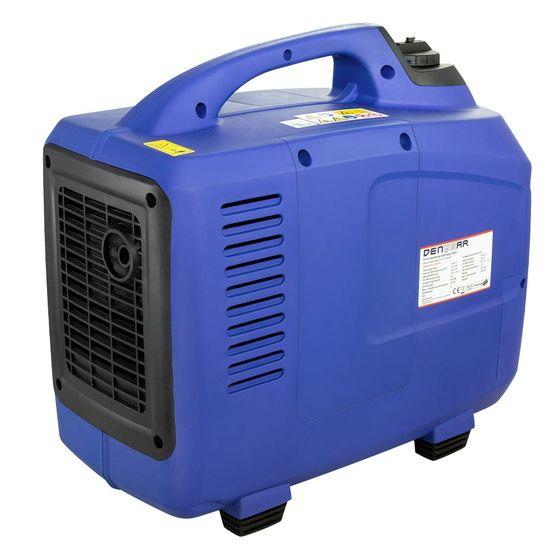 eBLUE® REMOTE & E-START 2,5 kW Digitaler Inverter Stromerzeuger, Generator benzinbetrieben