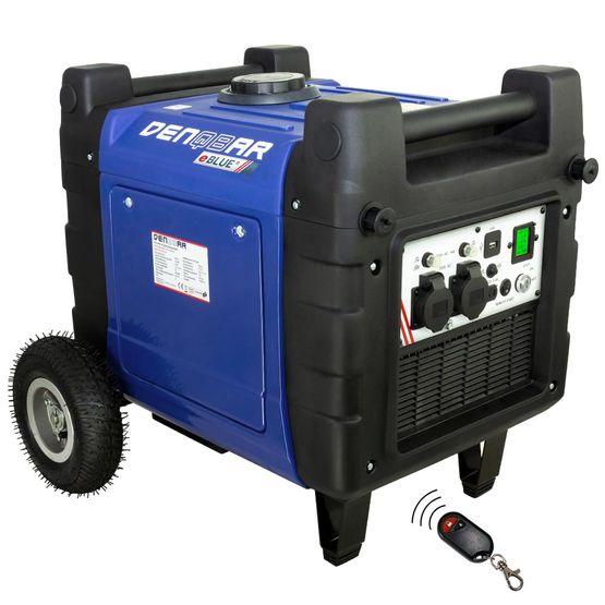 eBLUE® REMOTE & E-START 4,0 kW Digitaler Inverter Stromerzeuger, Generator benzinbetrieben