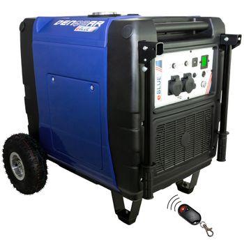 eBLUE® REMOTE + E-START 7,0 kW Digitaler Inverter Stromerzeuger, Generator benzinbetrieben