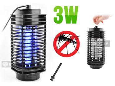 Insektenvernichter 3W Insektenlampe Insektenfalle Fliegenvernichter Lampe #1996