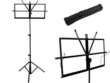 Folding and Adjustable Sheet Music Stand Holder  #1307