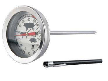 Thermometer 120 C Grad Backofen Edelstahl Ofen Grill Braten Bimetall Neu #465 – Bild 3