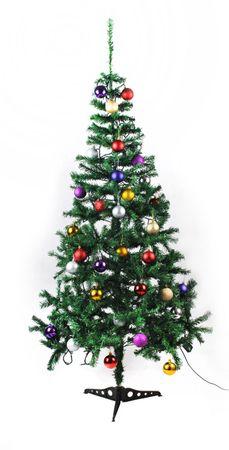 Künstlicher Weihnachtsbaum Tannenbaum Weihnachten 180 cm+METALLSTÄNDER Neu #1450