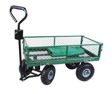 Large Cage Platform Garden Heavy Duty Outdoor Waterproof Truck  Trolley 579
