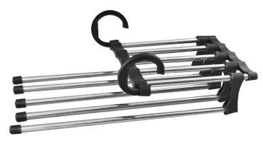 Raumsparbügel Platzsparbügel Kleiderbügel Multi Hänger Bügel Hosenbügel 1714 – Bild 1