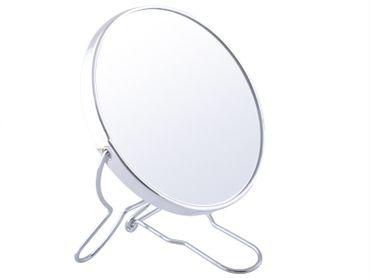 Kosmetikspiegel Badspiegel Vergrößerungsspiegel Rasierspiegel Make up Spiegel Silber 1730