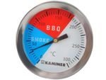 THERMOMETER FOR GRILL AND SMOKEHOUSE • stainless steel • temperature range: 0 to +250° C • excellent tool for grill, smokehouse • #1881 001