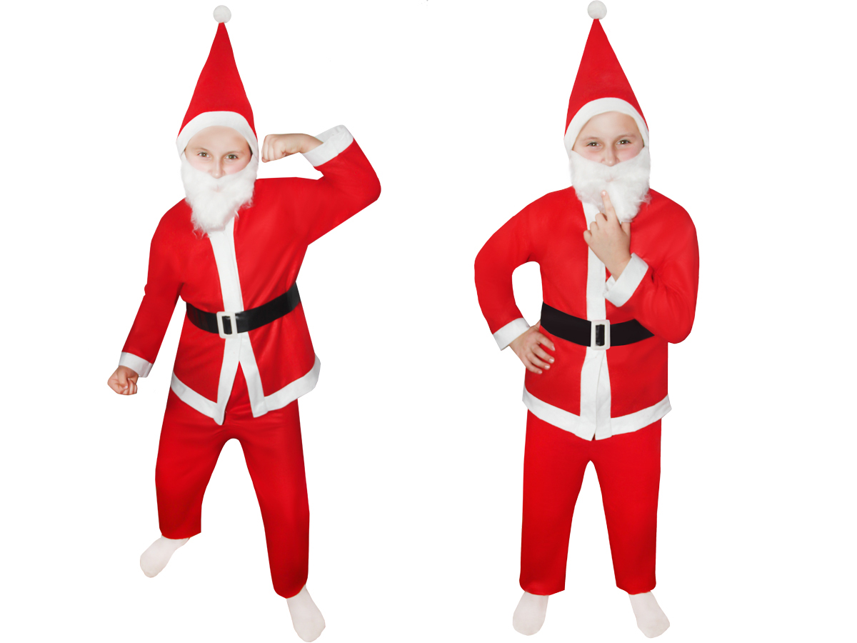weihnachtsmann kost m kinder 5 teilig fasching nikolaus. Black Bedroom Furniture Sets. Home Design Ideas
