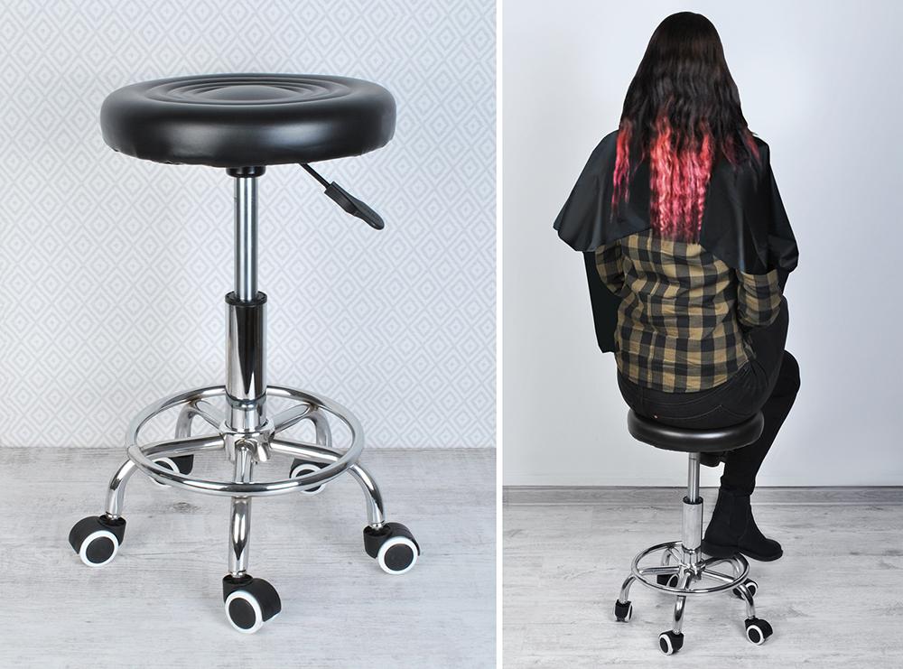 Sgabello sedia girevole kosmetikhocker ambulatorio da lavoro #5178