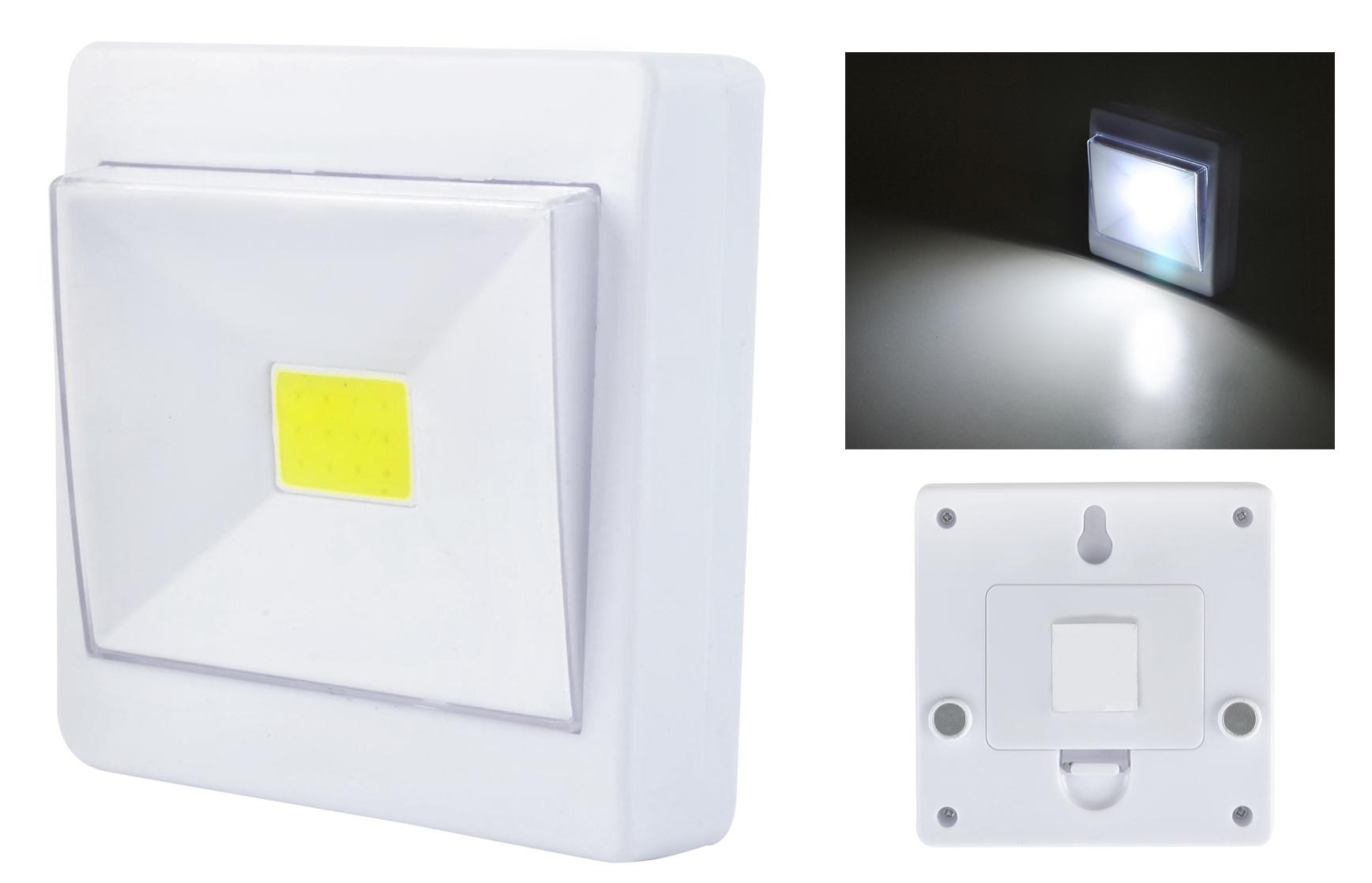 LED Leuchte Tragbarer Licht Schalter 3xAAA Schranklicht Nachtlicht ...