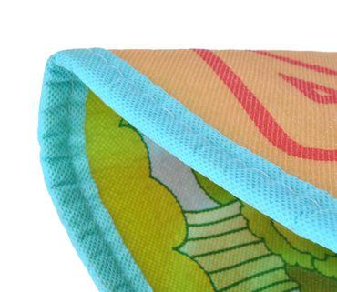 Kindermatte Spielteppich Isoliert 180x200x0,5cm Krabbeldecke Bunt Tasche Tragbar 6402 – Bild 8